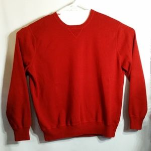 Knit Pullover Crewneck Sweater 100% Cotton EUC